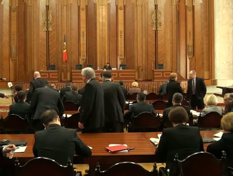 Şedinţa Parlamentului Republicii Moldova din 5 aprilie 2013