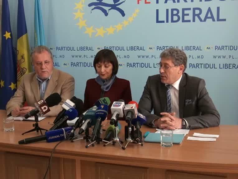 Conferinţă de presă susţinută de Mihai Ghimpu, preşedintele PL