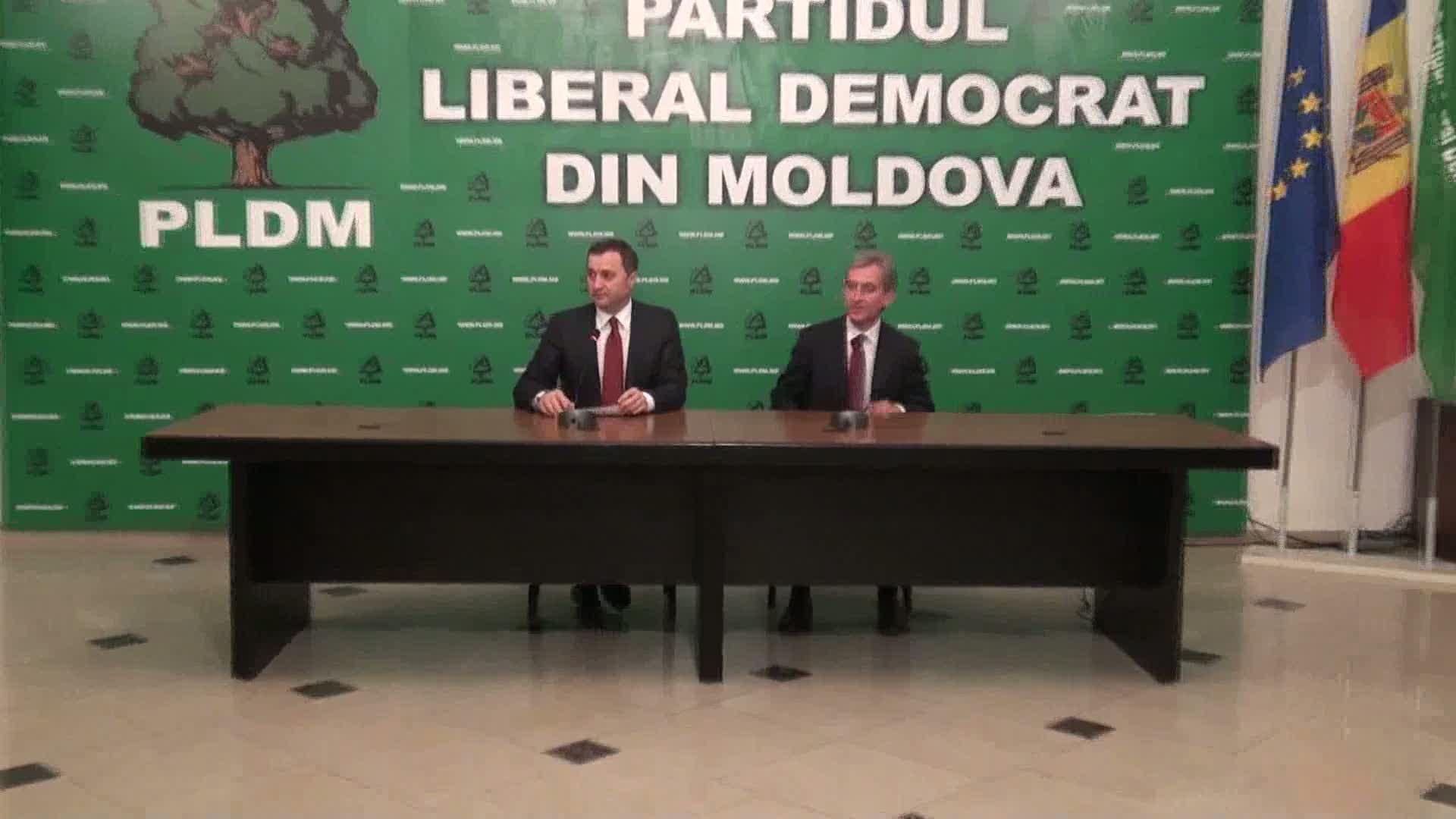 Briefing susţinut de Partidul Liberal Democrat din Moldova