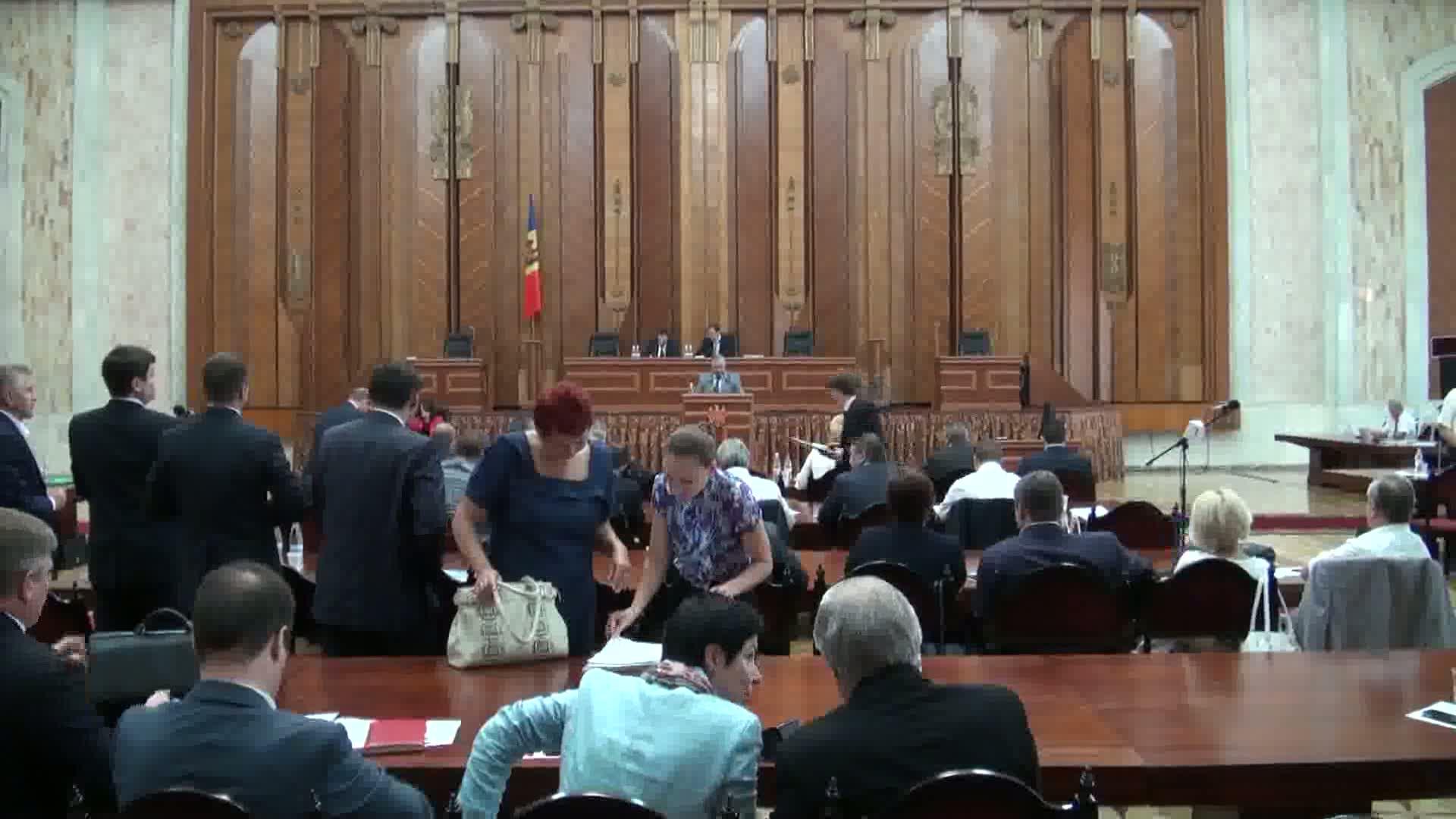 Ședința Parlamentului Republicii Moldova din 27 iunie 2013