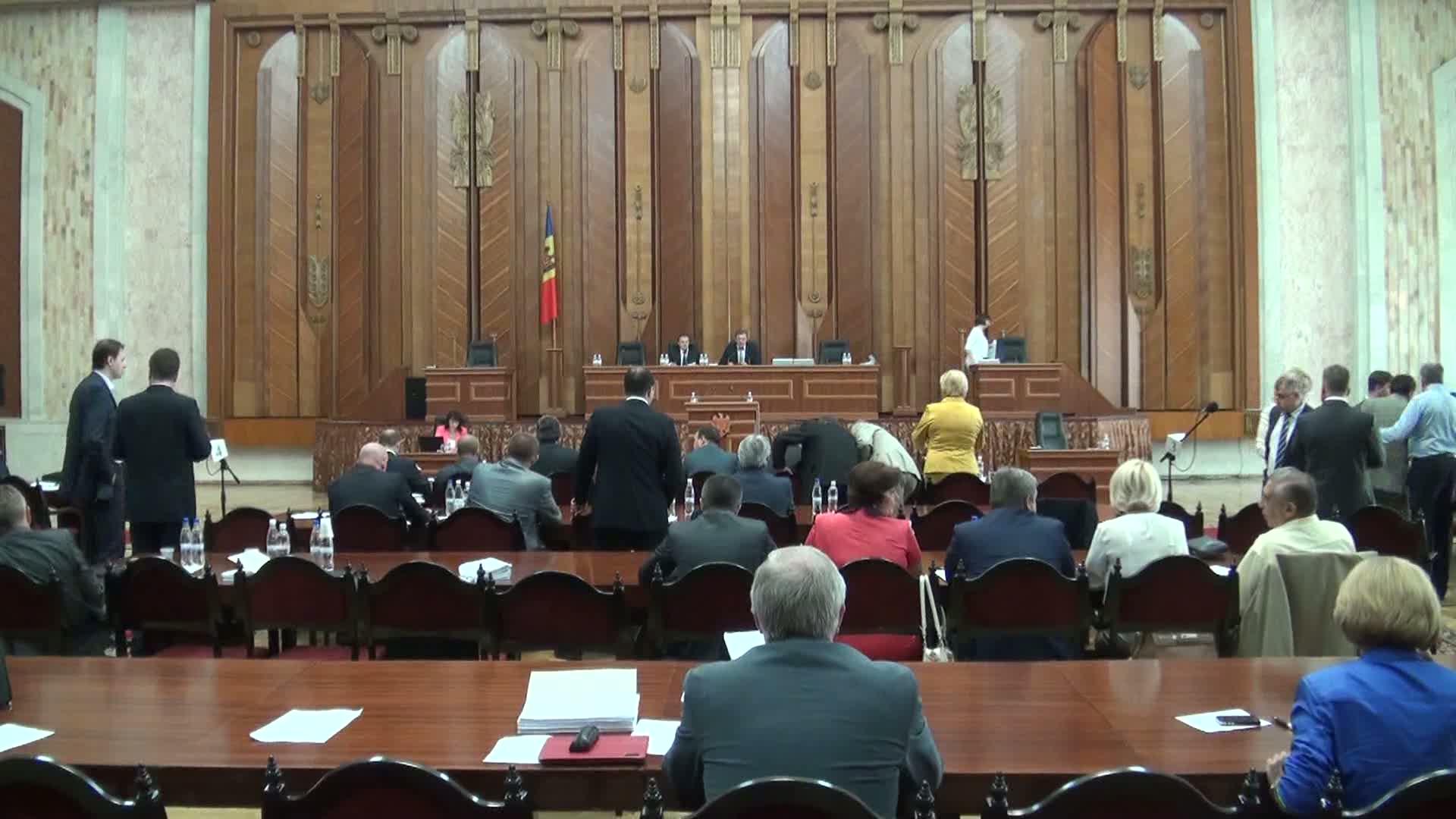 Ședința Parlamentului Republicii Moldova din 12 iulie 2013