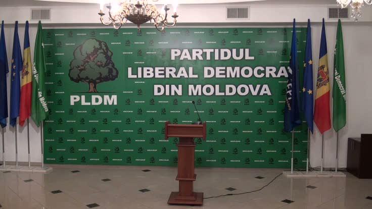 Conferinţă de presă susţinută de preşedintele PLDM, Vlad Filat, privind situaţia social-politică din ţară