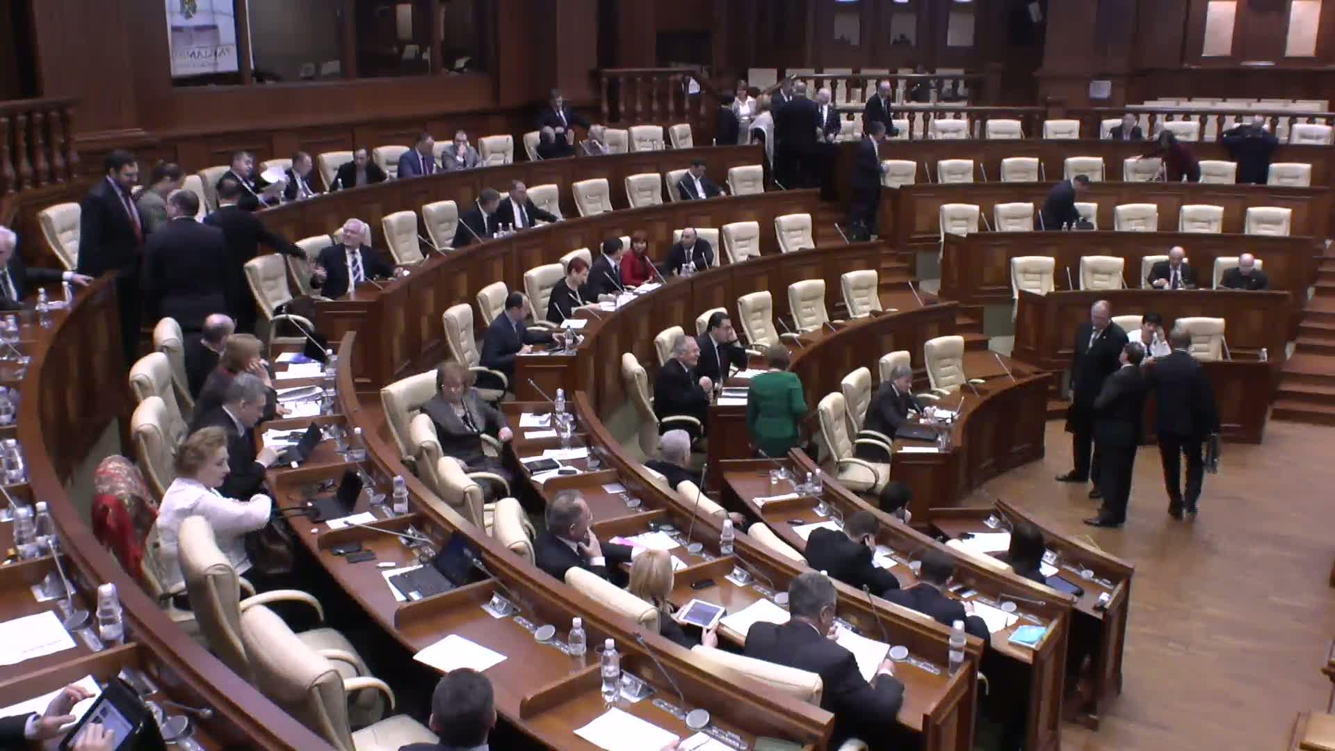 Şedinţa Parlamentului Republicii Moldova din 21 februarie 2014