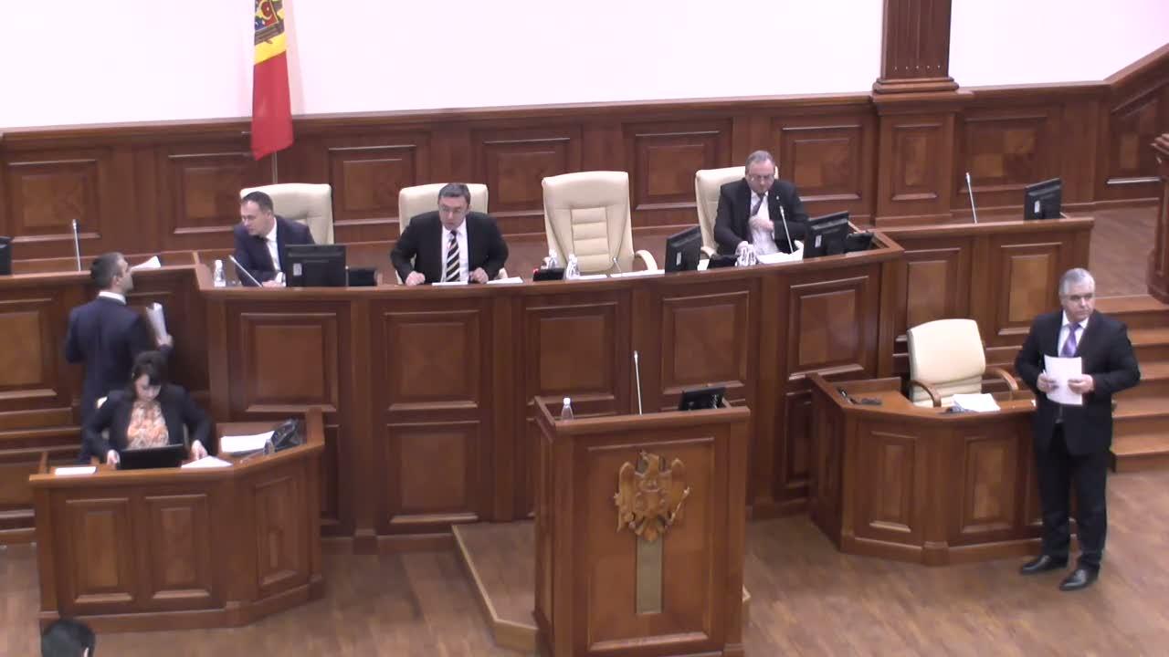 Şedinţa Parlamentului Republicii Moldova din 14 martie 2014