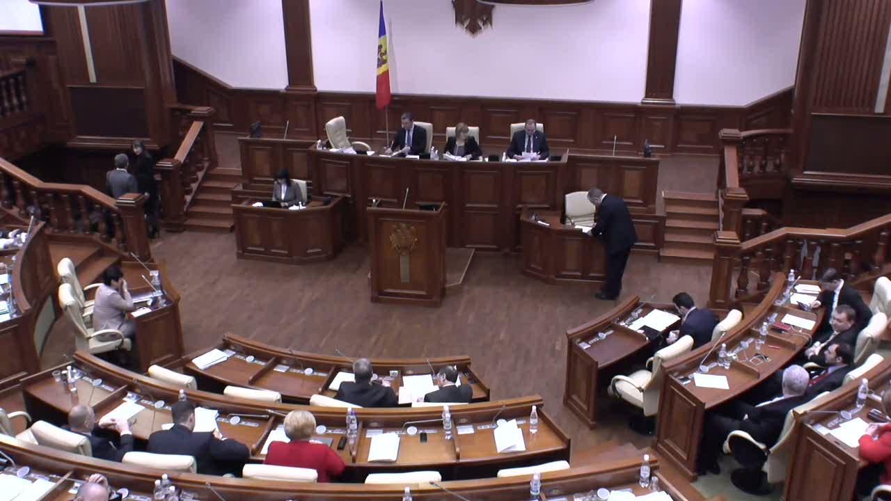 Şedinţa Parlamentului Republicii Moldova din 20 martie 2014
