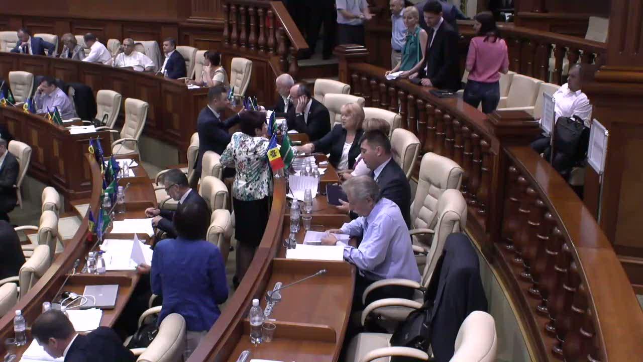 Şedinţa Parlamentului Republicii Moldova din 18 iulie 2014, 10.00