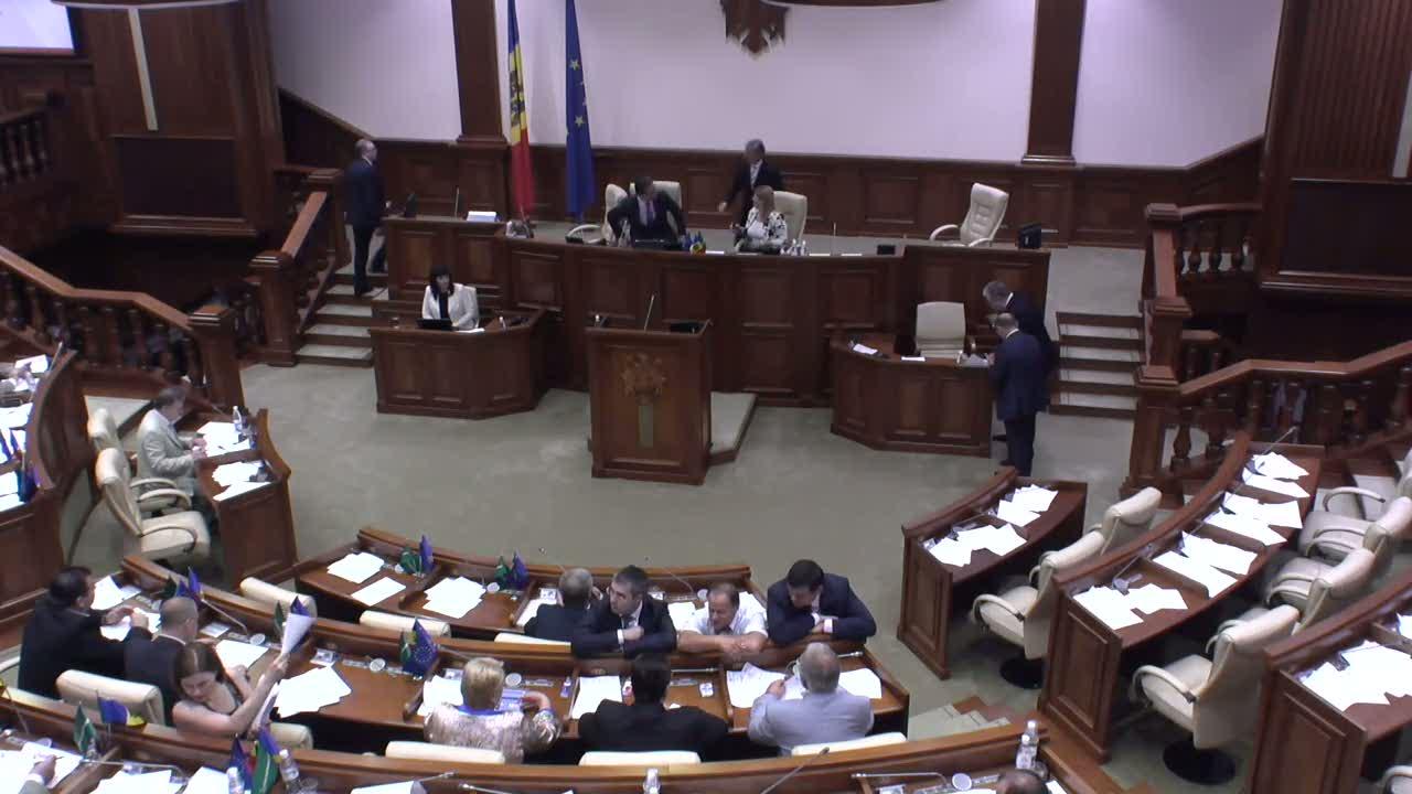 Ședința Parlamentului Republicii Moldova din 22 iulie 2014, 09.00