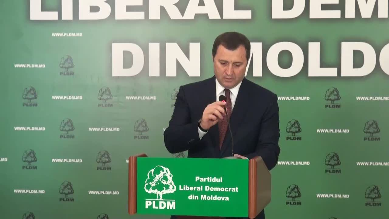 Briefing susţinut de președintele PLDM, Vlad Filat, 11.00