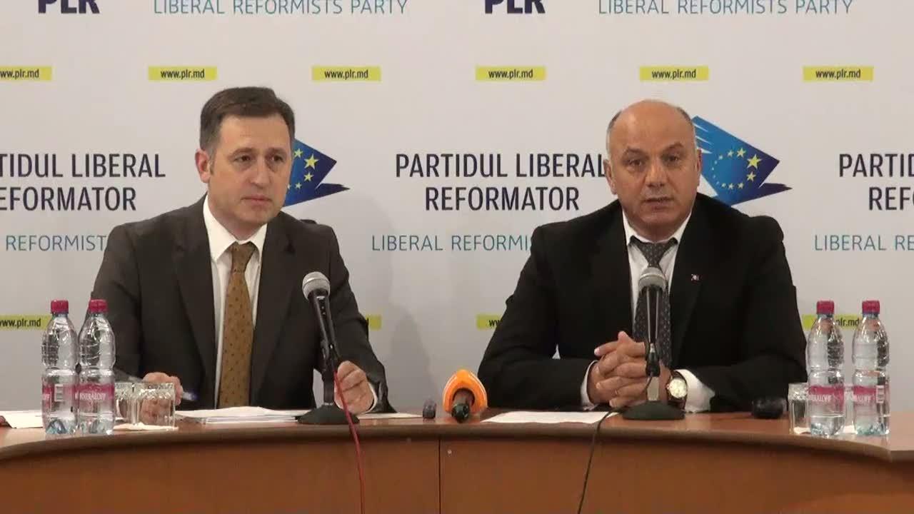"""Conferință de presă cu tema """"Partidul Liberal Reformator despre embargoul la fructe și legume, impus de Federația Rusă: motive și soluții"""""""