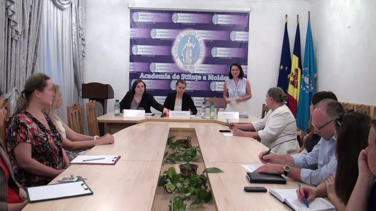"""Conferință de presă cu tema """"Cine va decide soarta proiectelor științifice anunțate de Academia de Științe a Moldovei pentru anii 2015-2018?"""""""