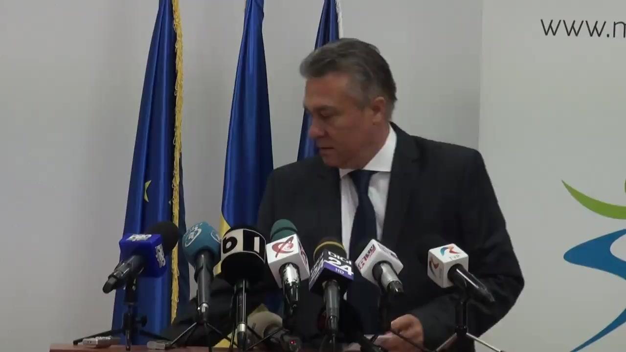 Conferință de presă susținută de președintele Fundației Mișcarea Populară, Cristian Diaconescu, și omul de afaceri, Viorel Cataramă