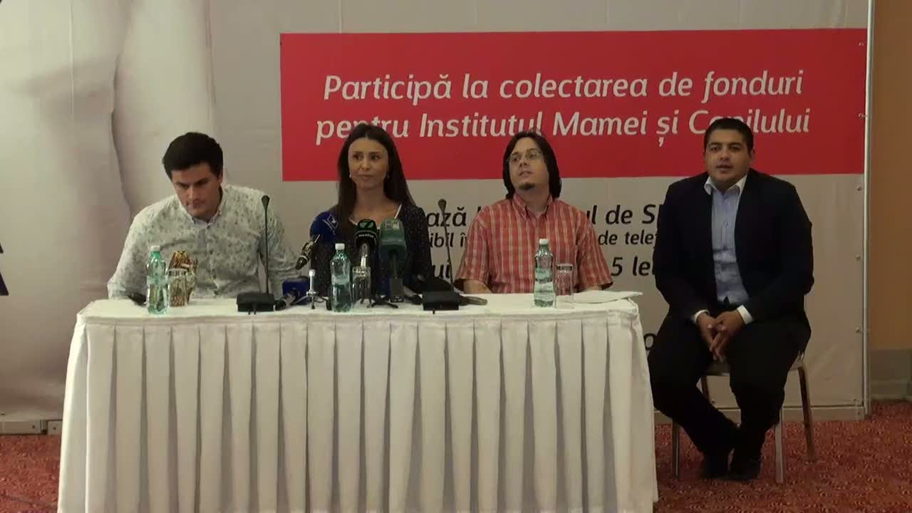 Conferință de presă susținută de Valentina Nafornița și Chișinău Youth Orchestra
