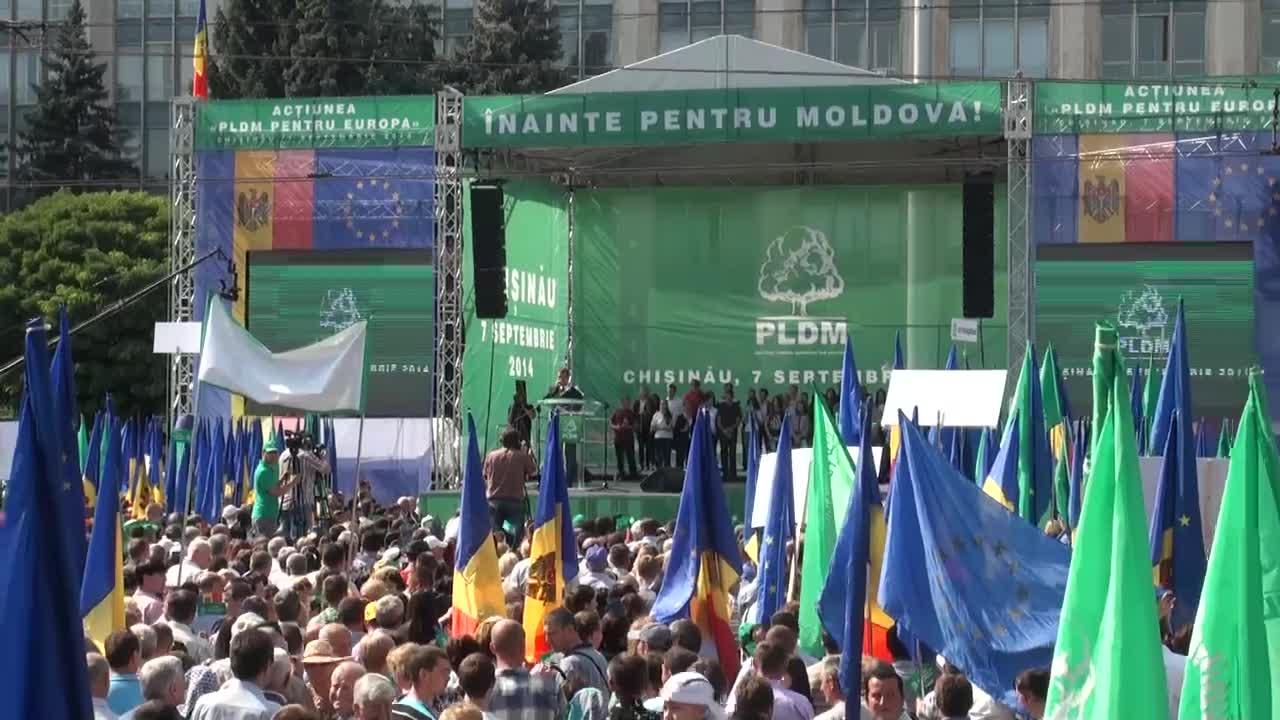 """Acțiunea """"PLDM pentru Europa"""""""