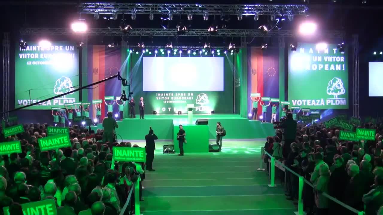 Lansarea Partidului Liberal Democrat din Moldova în campania electorală pentru alegerile parlamentare din 30 noiembrie 2014