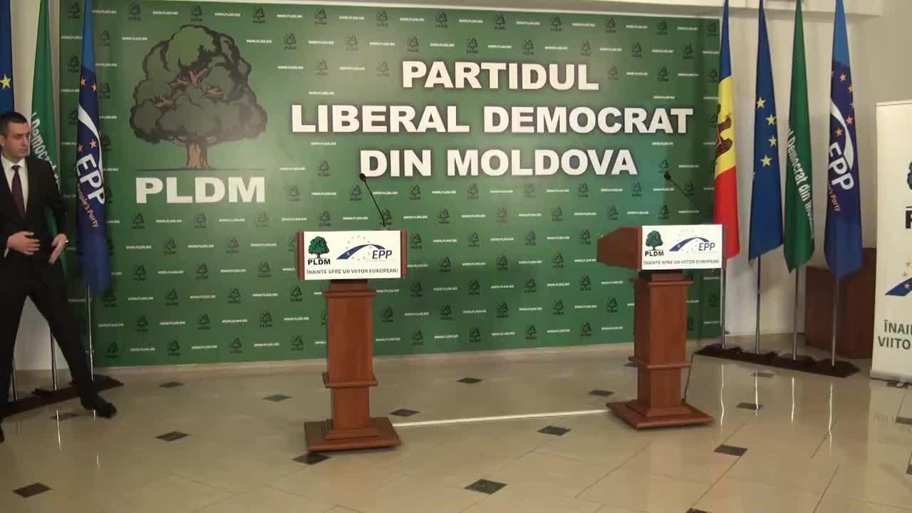 Conferință de presă susținută de președintele PLDM, Vlad Filat, și președintele ales al României, Klaus Iohannis, Vineri, 28 Noiembrie 2014, 11.00