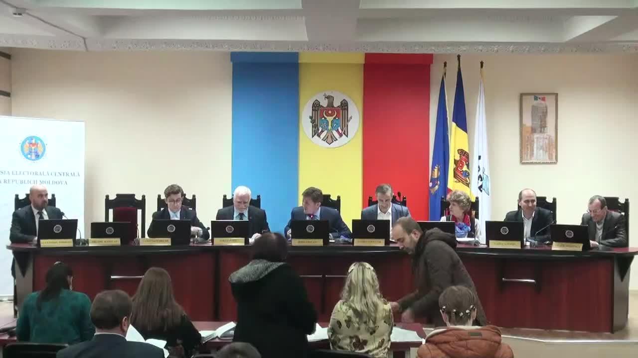 Şedinţa Comisiei Electorale Centrale din 5 decembrie 2014, 15.00