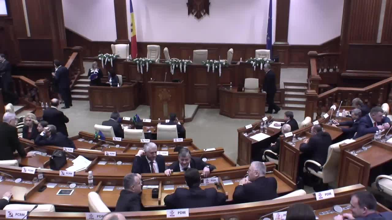 Ședința Parlamentului Republicii Moldova din 29 decembrie 2014, ora 10.00