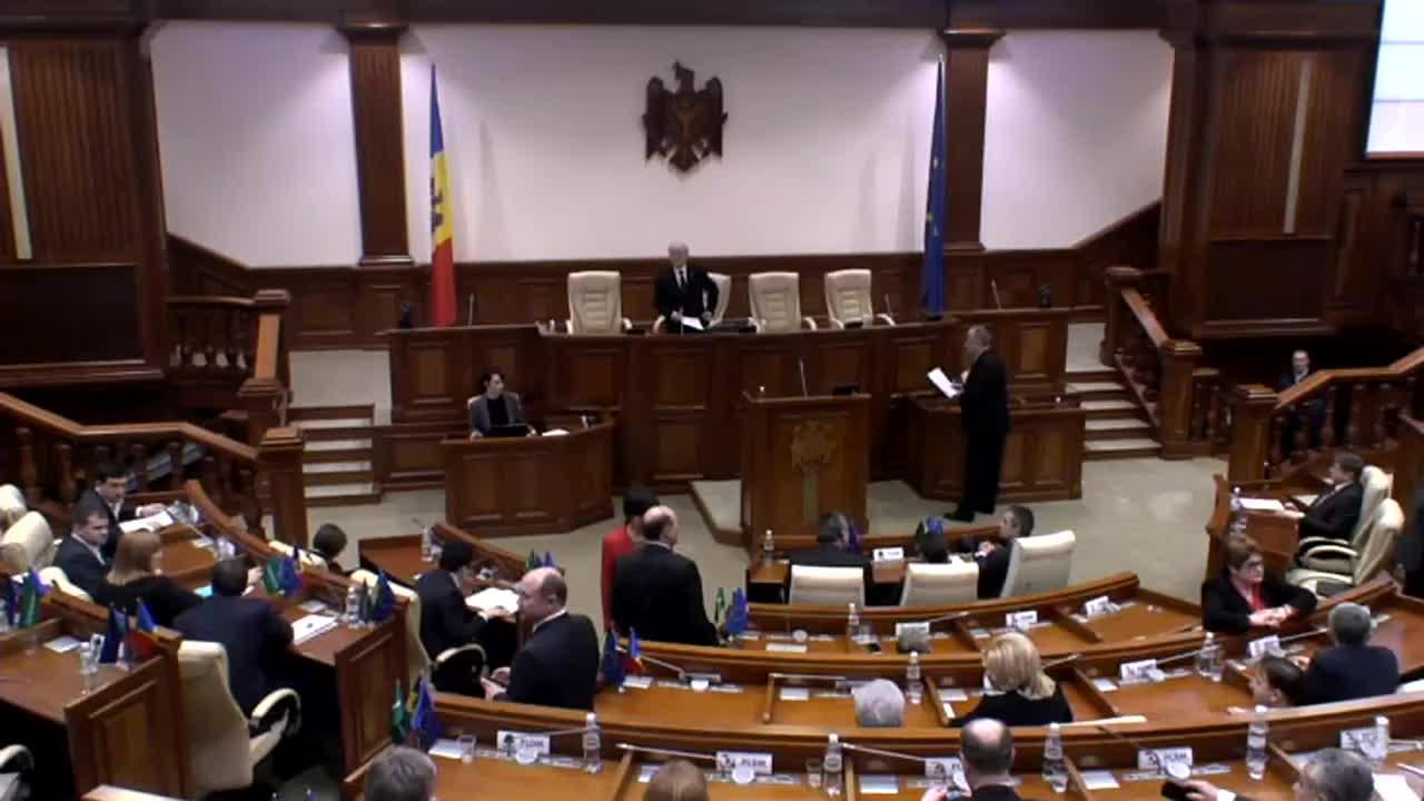 Sedinta Parlamentului Republicii Moldova din 22 ianuarie 2015, 15.00