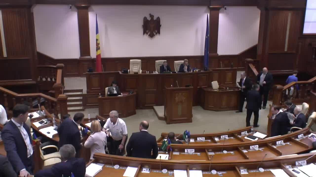 Sedinta Parlamentului Republicii Moldova din 29 mai 2015