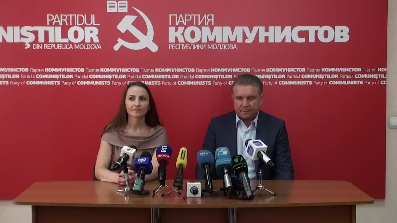 Conferinta de presa sustinuta de Vasili Chirtoca privind rezultatul alegerilor locale, 10.00