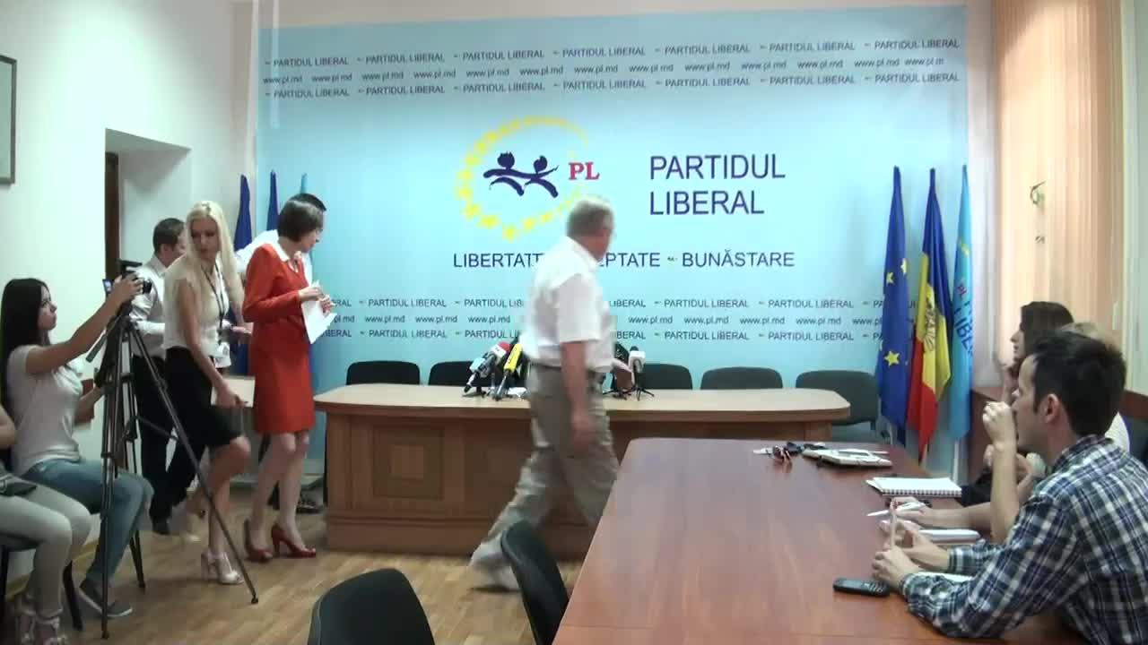 Conferinta de presa sustinuta de conducerea Partidului Liberal privind rezultatele turului al doilea al alegerilor locale generale