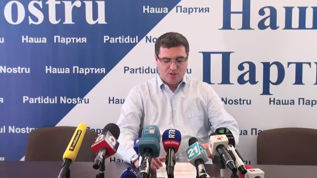 Conferinta de presa sustinuta de presedintele Partidului Nostru, Renato Usatii, privind rezultatele turului al doilea al alegerilor locale generale