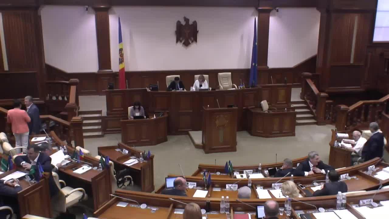 Sedinta Parlamentului Republicii Moldova din 9 iulie 2015, ora 10.00