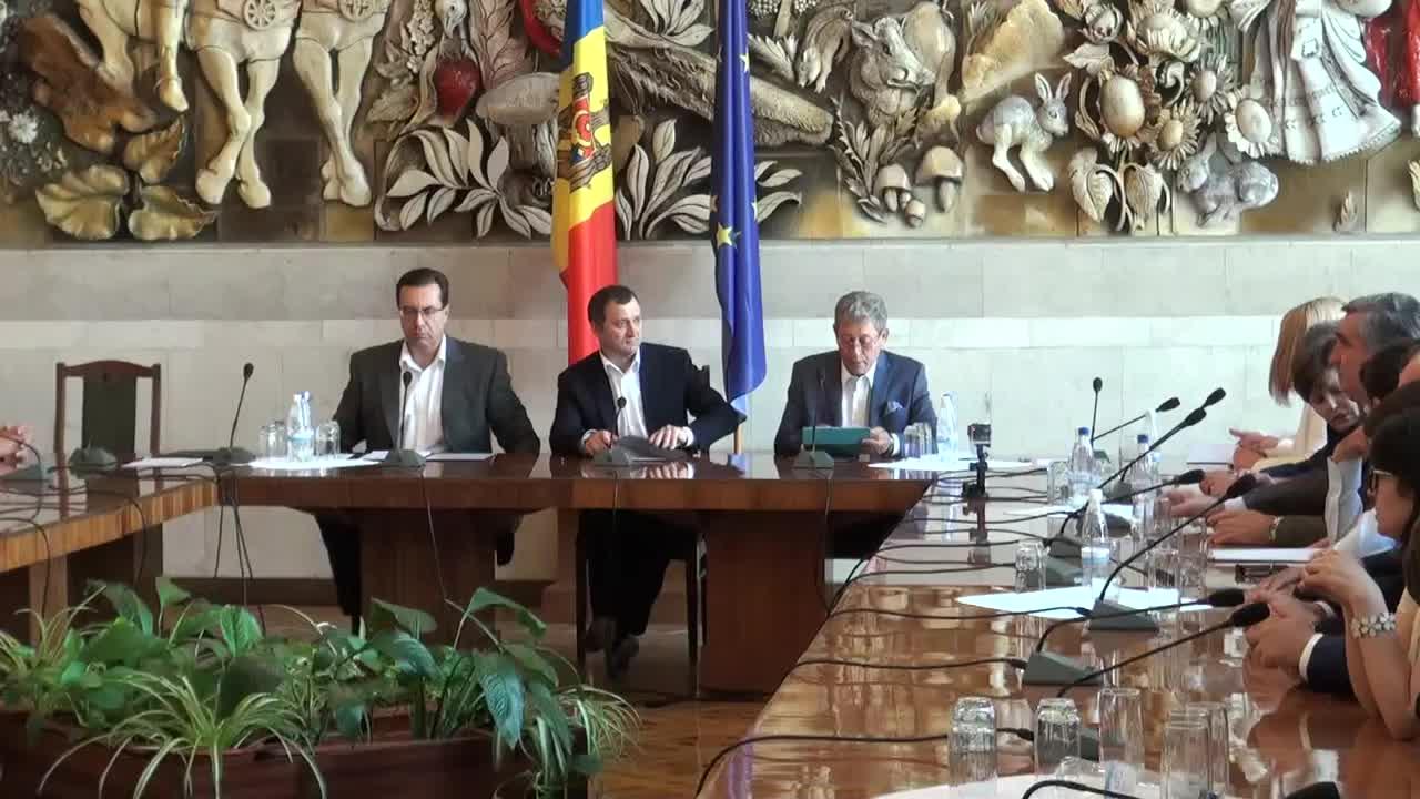 Semnarea acordului de constituire a Aliantei pentru Integrare Europeana 3