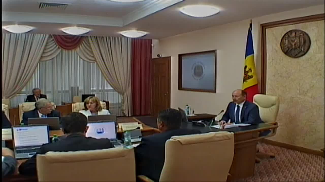Sedinta Guvernului Republicii Moldova din 12 august 2015
