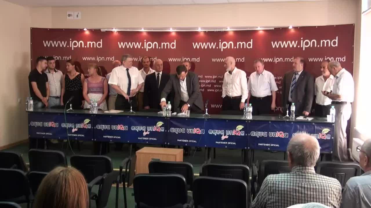"""Conferința de presă cu tema """"Marea Adunare Națională – punct culminat. Moldova Independentă sau Moldova"""