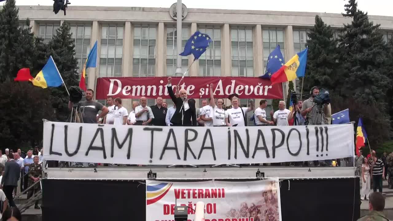 """Mitingul de protest organizat de Platforma Civică """"Demnitate si Adevăr"""", ora 12.00"""