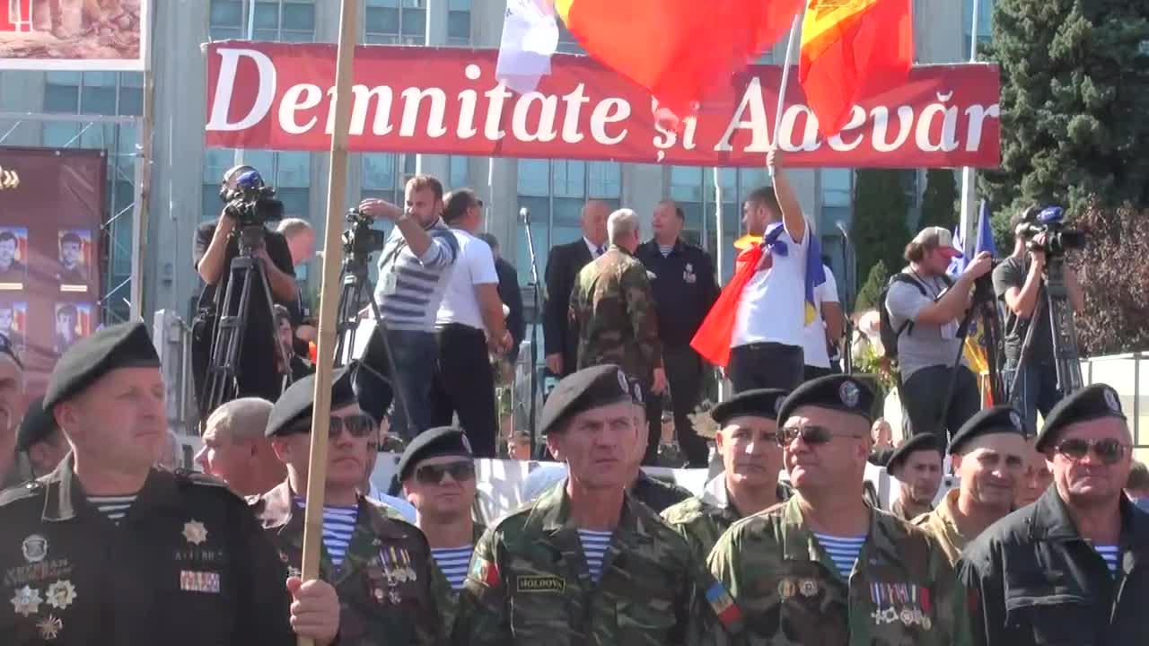 """Mitingul de protest organizat de Platforma Civică """"Demnitate și Adevăr"""""""