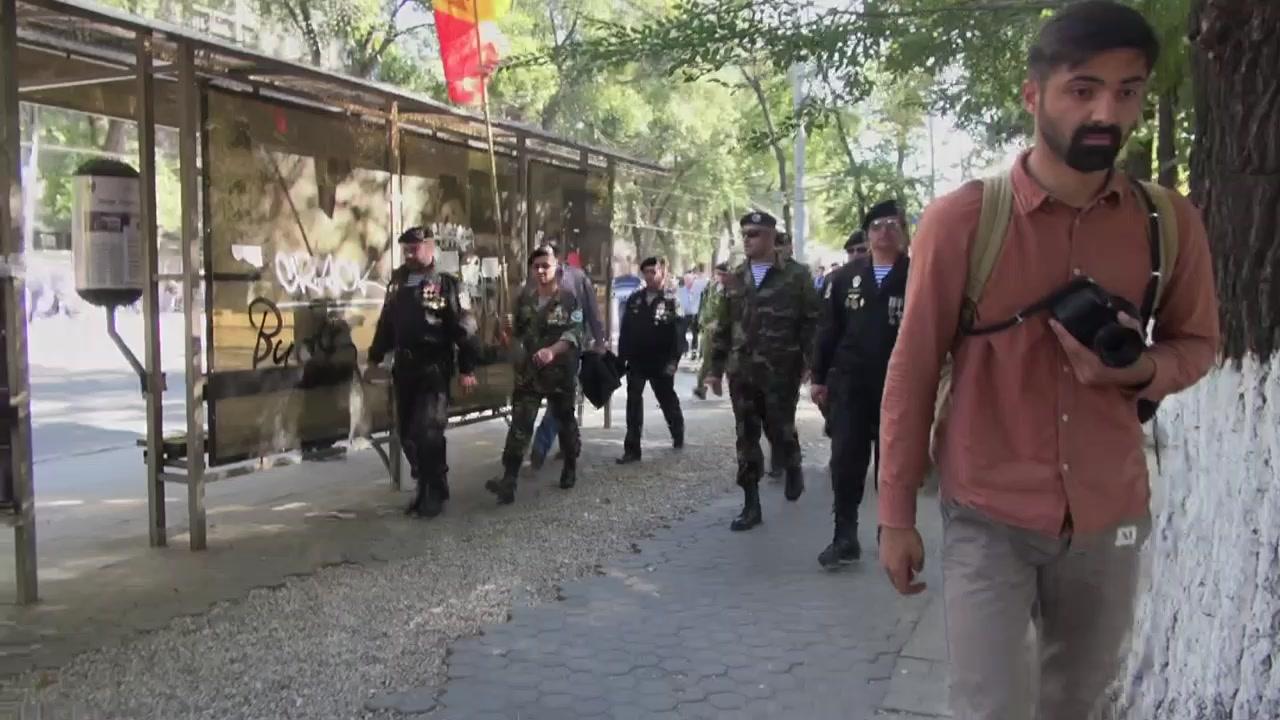 """Mitingul de protest organizat de Platforma Civică """"Demnitate și Adevăr"""" în fața Parlamentului Republicii Moldova"""