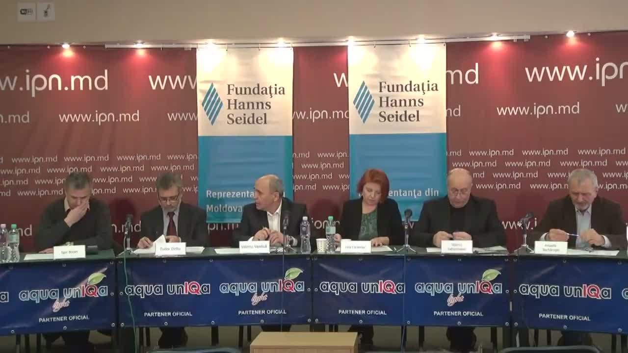"""Dezbateri publice cu tema """"Resetarea sistemului anti-corupție: necesități și realități. Declarația OSC -Mimarea reformării sistemului justiției și anticorupție din Moldova"""""""