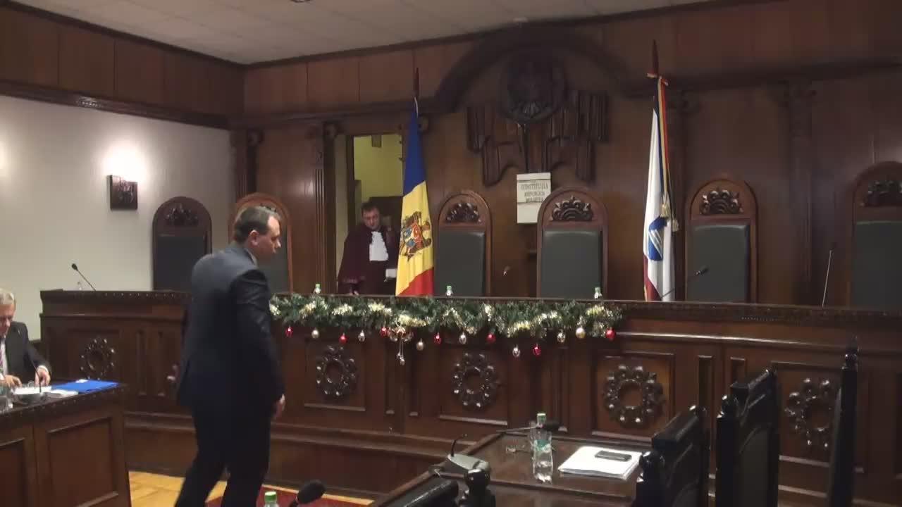 Hotărârea Curții Constituționale privind controlul constituționalităţii Decretului Președintelui Republicii Moldova referitor la desemnarea candidatului pentru funcția de prim-ministru