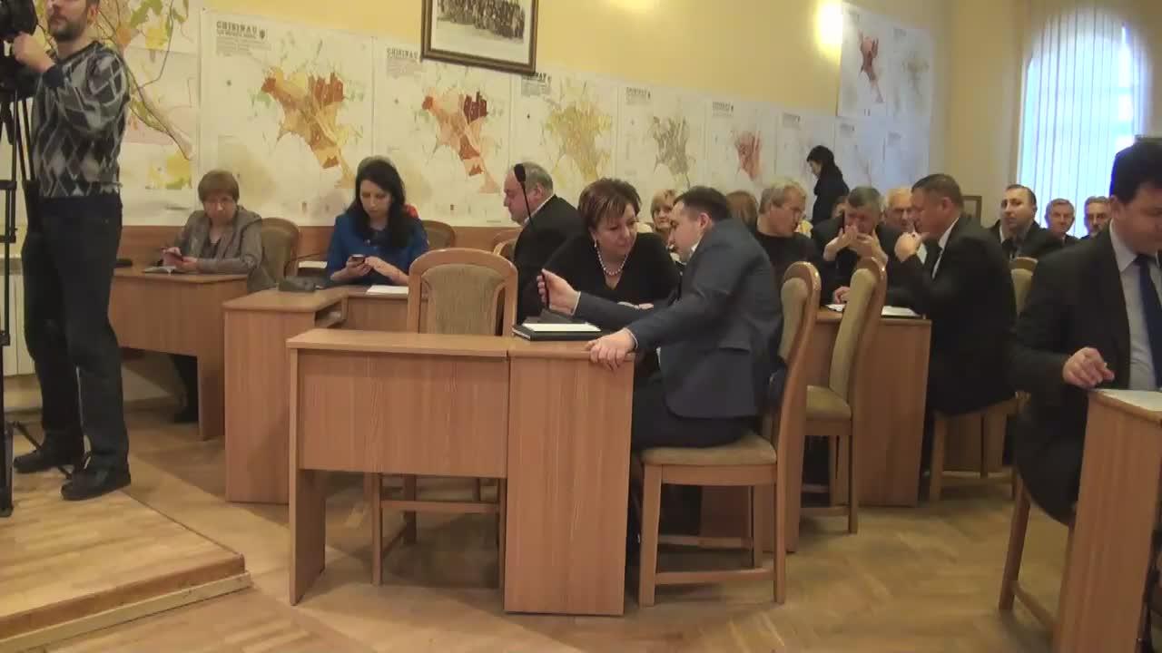 Ședința săptămânală a serviciilor primăriei Chișinău din 8 februarie 2016