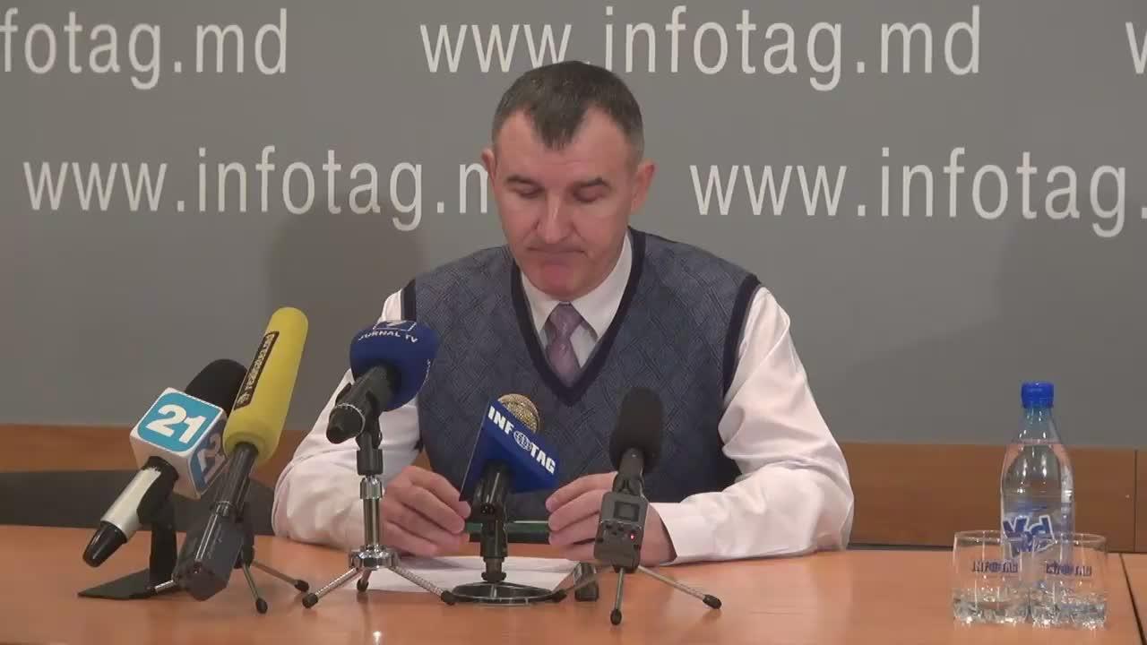 """Conferință de presă cu tema """"Replica Președintelui Mișcării Refugiaților Transnistreni Anatolie Bîzgu la declarația poliției vizavi de acțiunile de protest din 20 ianuarie 2016"""""""