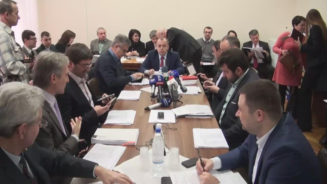 Ședința Comisiei economie, buget și finanțe din 10 februarie 2016