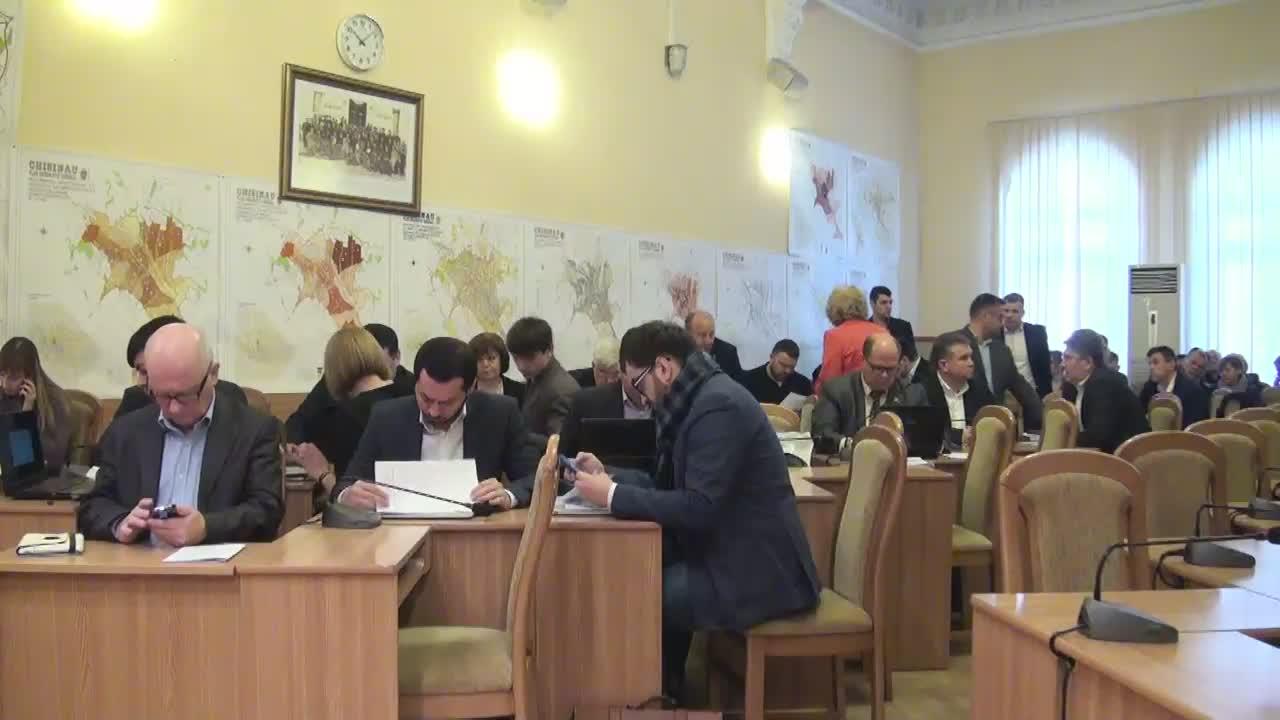 Ședința Consiliului Municipal Chișinău din 25 februarie 2016