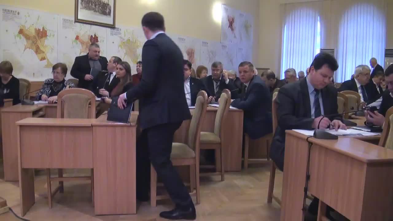 Ședința săptămânală a serviciilor primăriei Chișinău din 29 februarie 2016