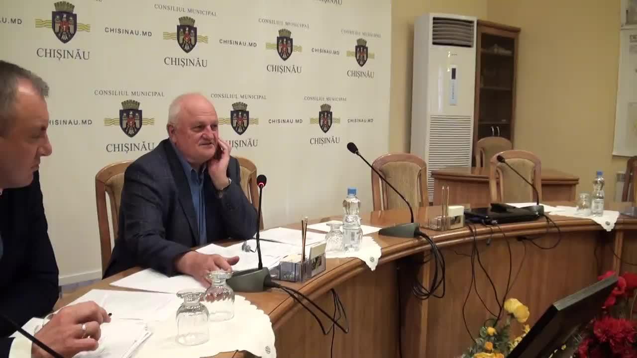 Ședința Consiliului Municipal Chișinău din 26 mai 2016
