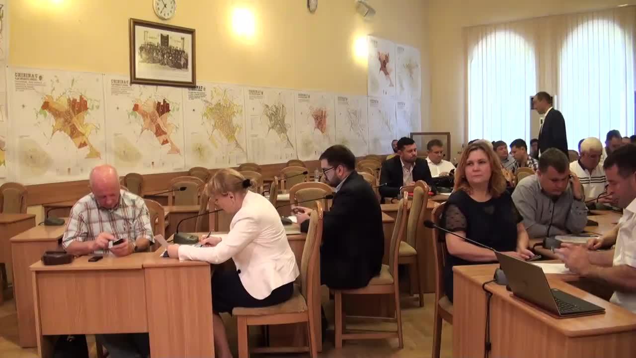 Ședința Consiliului Municipal Chișinău din 21 iunie 2016
