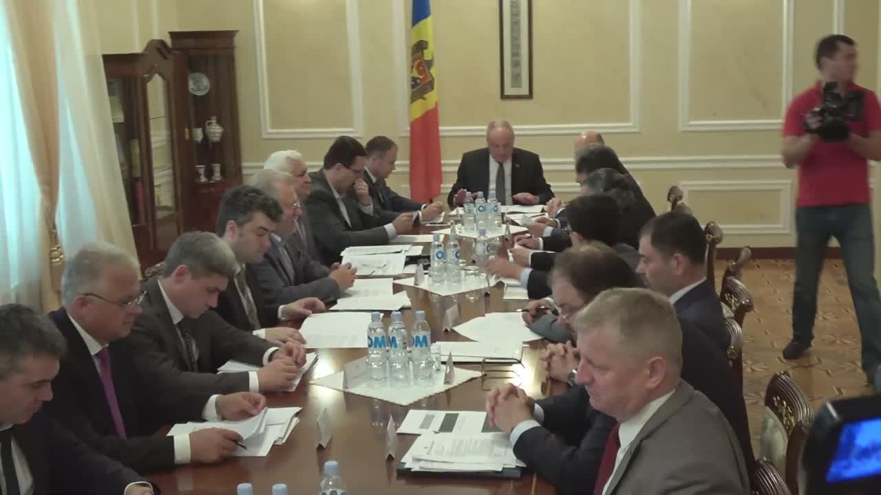 Ședința Consiliului Suprem de Securitate din 21 iunie 2016