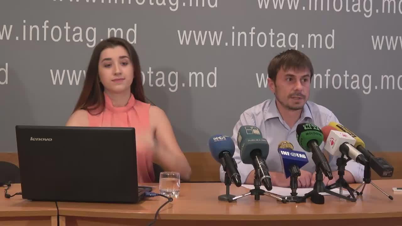 """Conferință de presă organizată de Compania Intellect Group cu tema """"Prezentarea sondajului socio-politic"""""""
