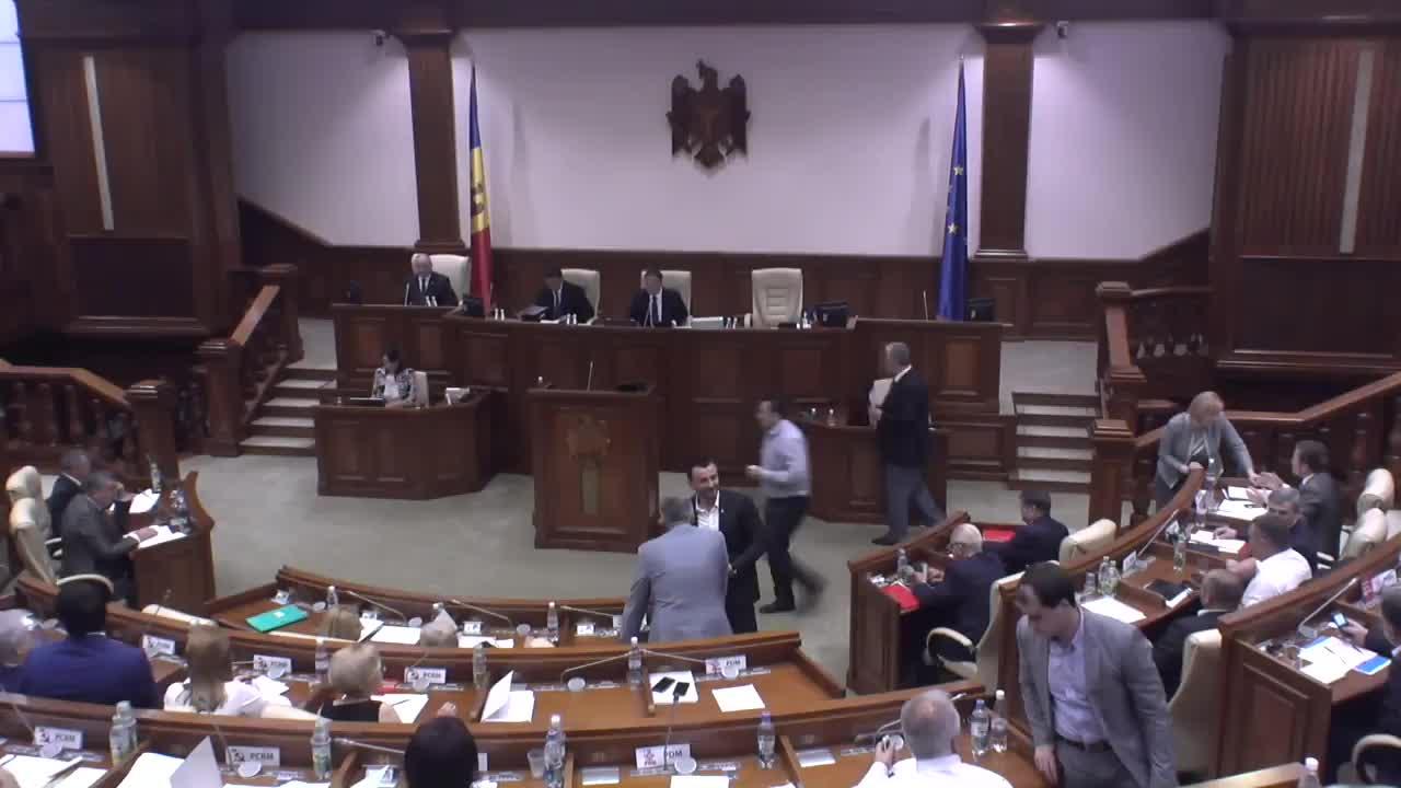 Ședința Parlamentului Republicii Moldova din 15 iulie 2016