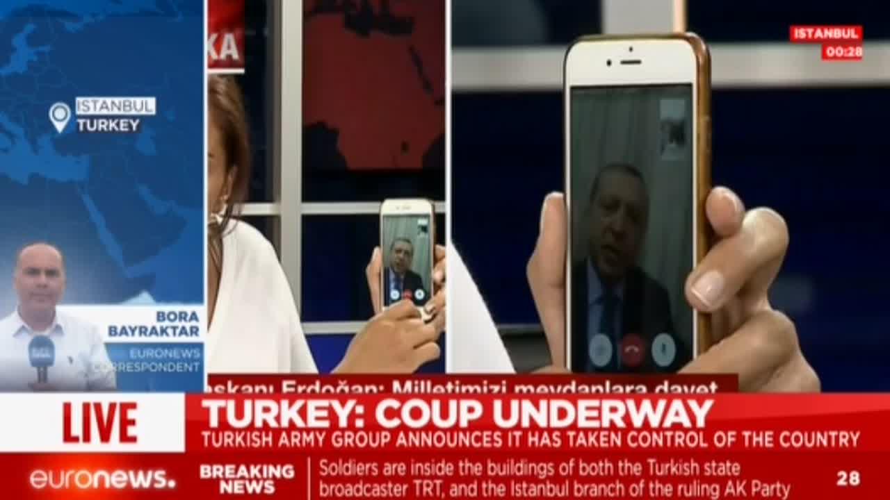 Turcia. Lovitură de stat! Retransmisiune Euronews