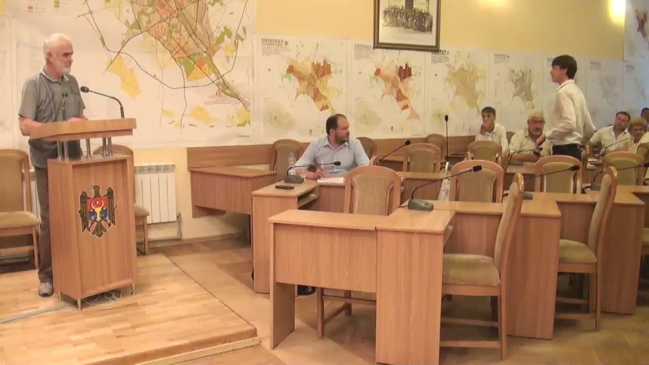 Ședința Consiliului Municipal Chișinău din 28 iulie 2016