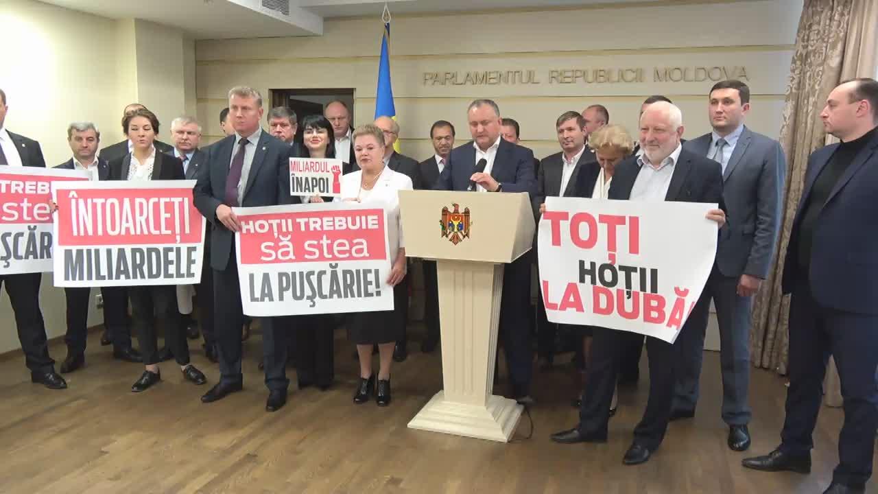 Declarația fracțiunii PSRM după Ședința Parlamentului Republicii Moldova din 27 septembrie 2016