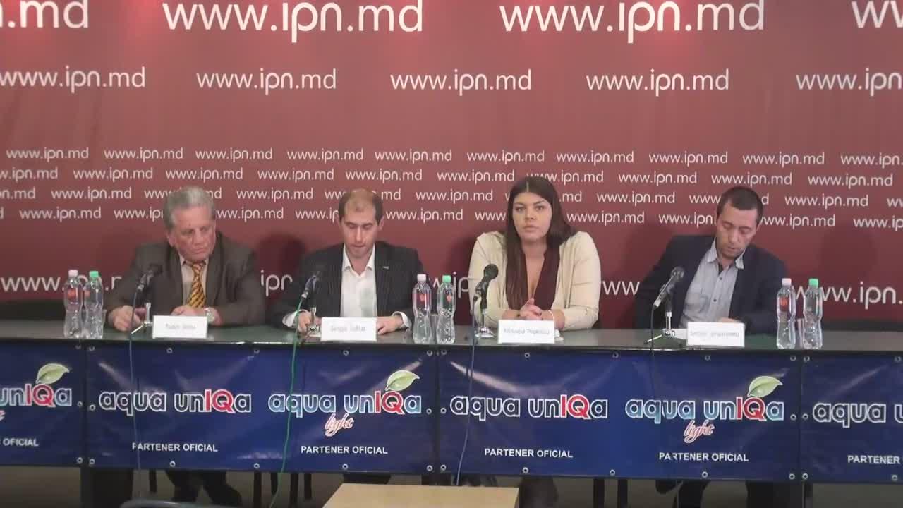 """Conferința de presă cu tema """"Declarația privind necesitatea mobilizării în susținerea moțiunii de cenzură care va anula transformarea miliardului furat în datorie publică"""""""