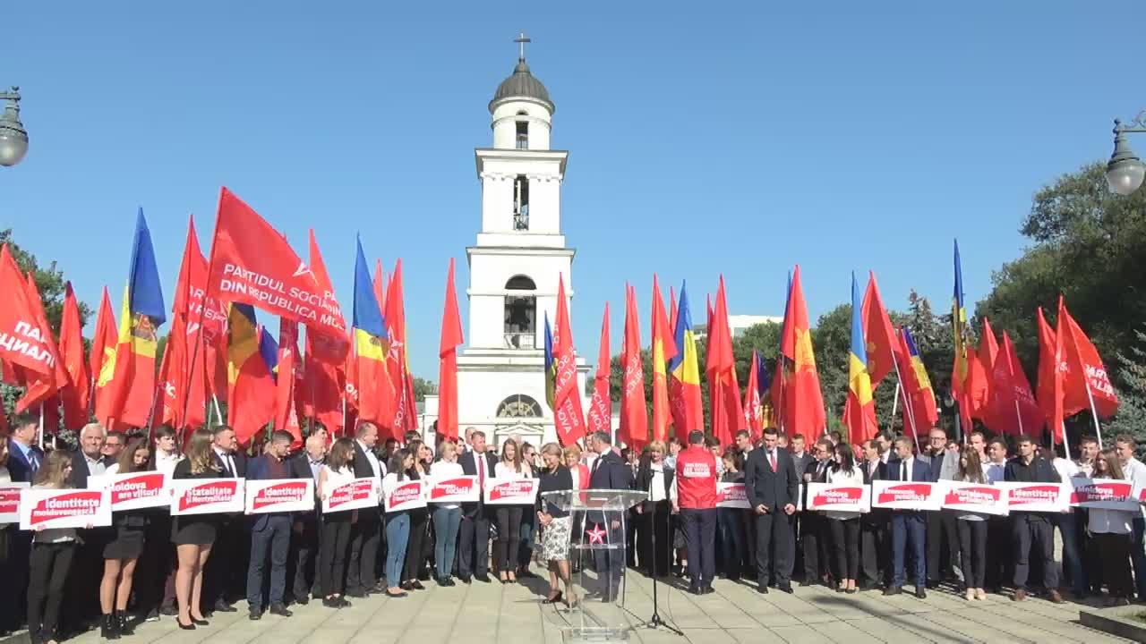 Lansarea campaniei electorale oficiale a lui Igor Dodon, candidatul PSRM la funcția de Președinte al Republicii Moldova